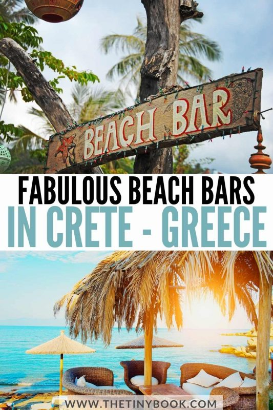 Fabulous Beach Bars in Crete, Greece