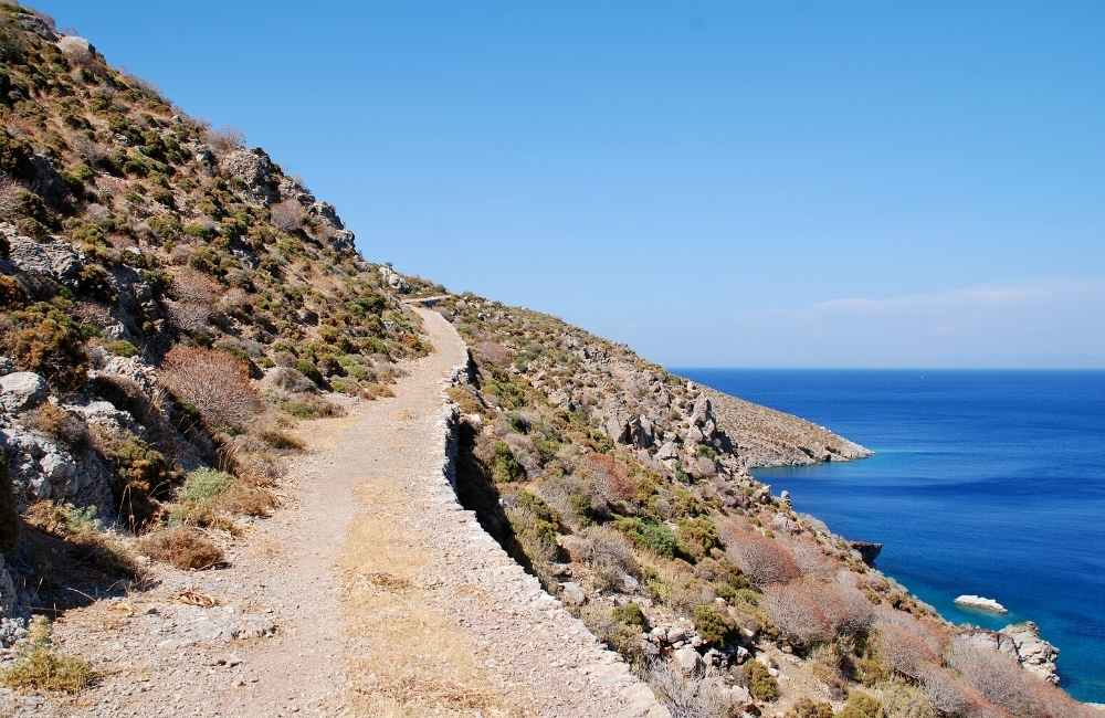 Tilos Island - Footpath-to-Lethra