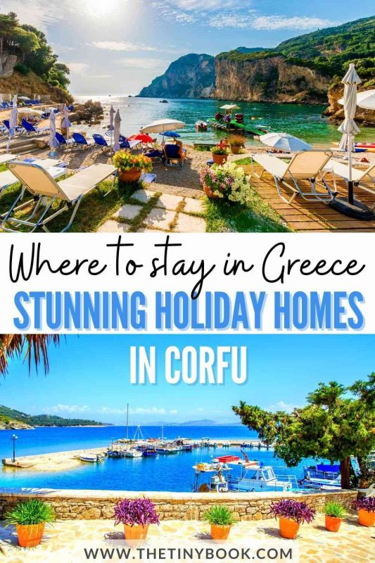 Beautiful Holiday Homes in Corfu for a Vacation in Greece