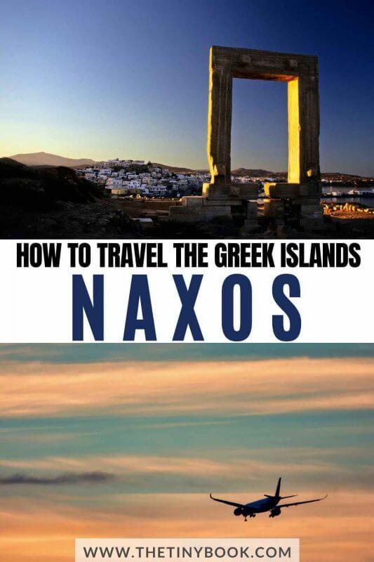 Learn how to get to Naxos Island, Greece