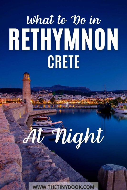 Top things to do in Rethymnon (Crete) at night