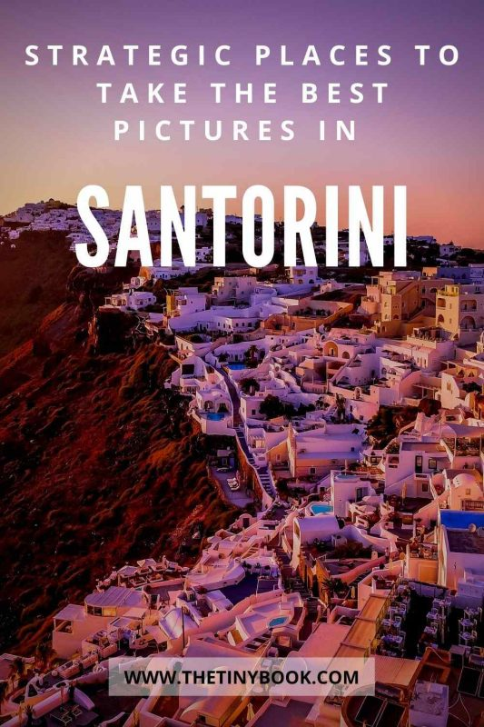 Where to take the best photos in Santorini