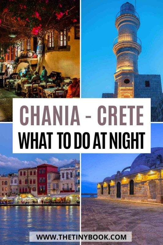 Best things to do in Chania at night