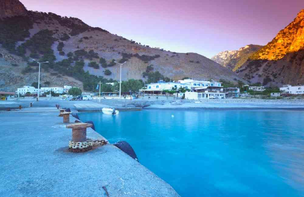 Boat Trips Crete - Port Agia Roumeli