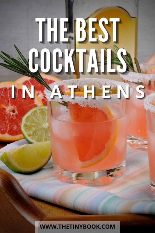 Where to have the best cocktails in Athens, Greece