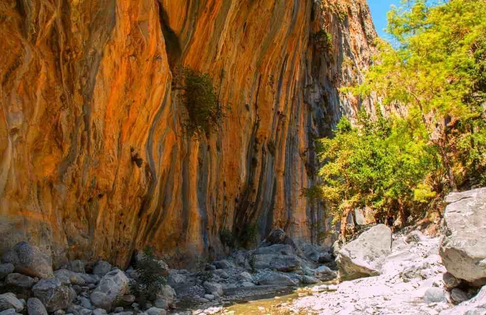 Samaria Gorge - Gorges in Crete
