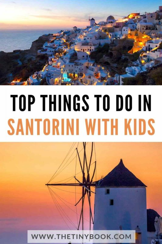 What to do in Santorini with children