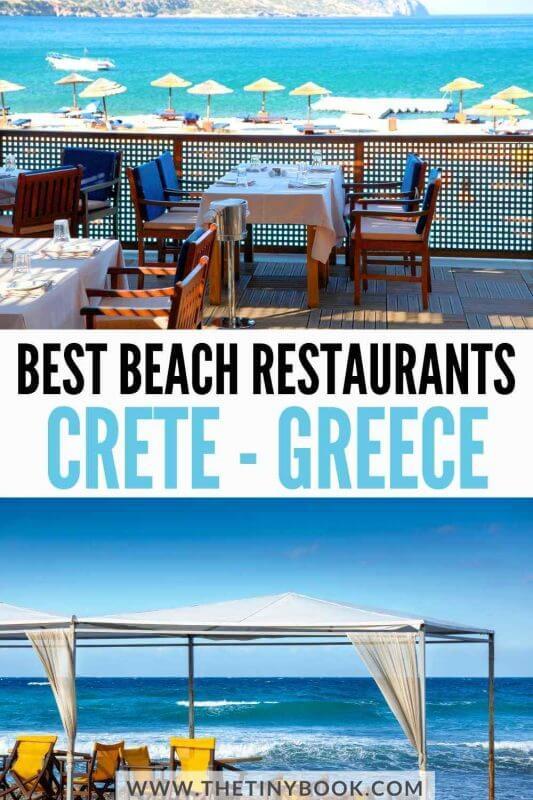 Best beach restaurants in Crete