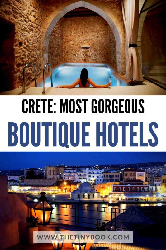 Gorgeous Boutique Hotels in Chania, Crete