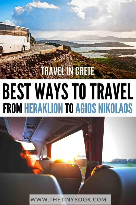 How to get from Heraklion to Agios Nikolaos