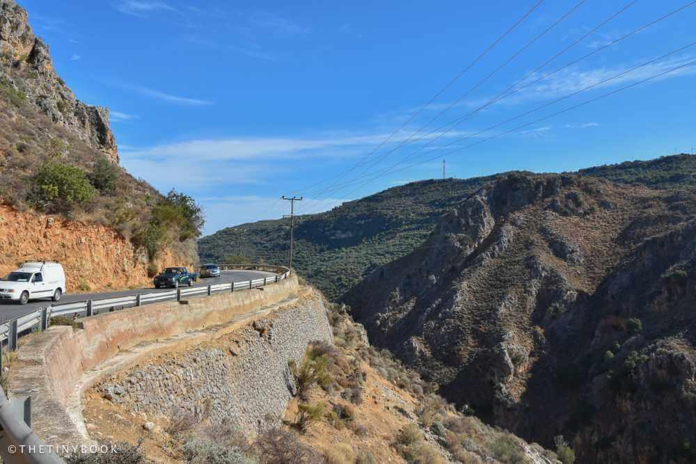 elafonisi road