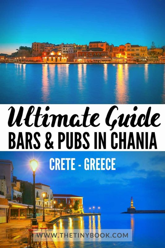 Best Bars and Pubs in Chania