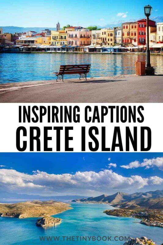 Best Instagram Quotes about Crete.