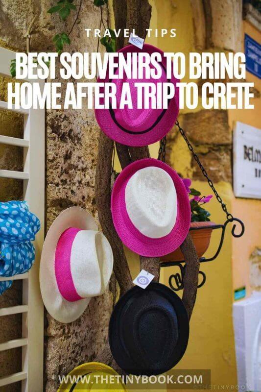 Best souvenirs from Crete