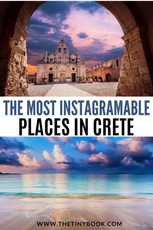 The most instagrammable places in Crete