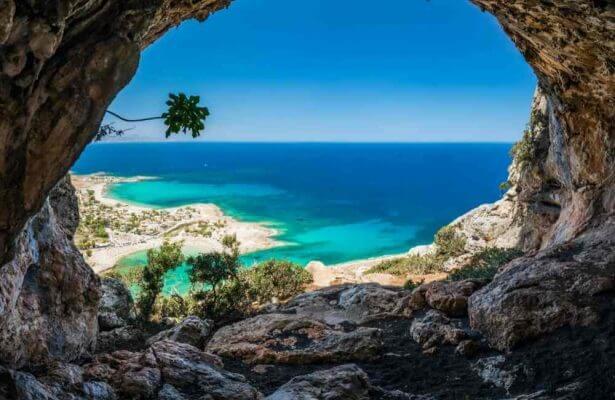 Crete Sea and beach