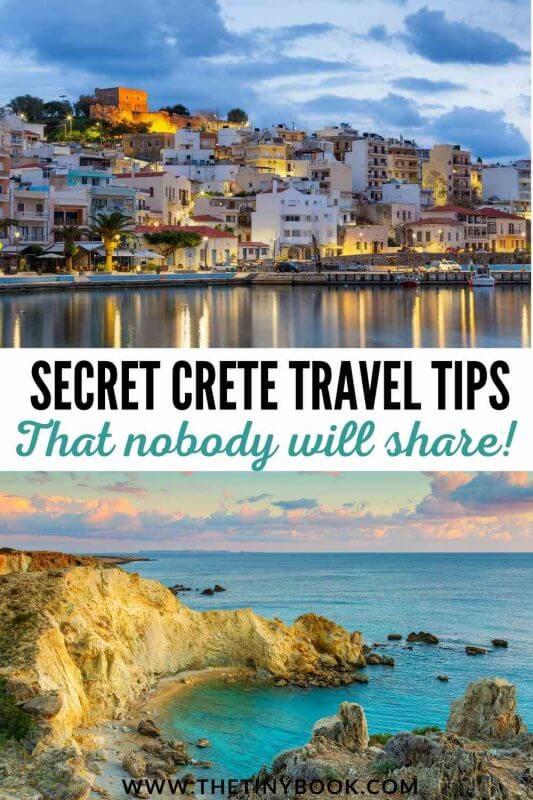 Secret tips to travel to Crete
